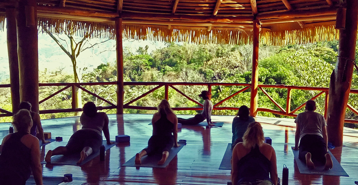 Costa Rica Yoga Retreat in the jungle and mountains
