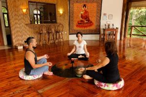 retreat studio yoga meditation amatierra