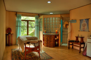 AMATIERRA'S BEAUTIFUL TREATMENT ROOM AWAITS YOU